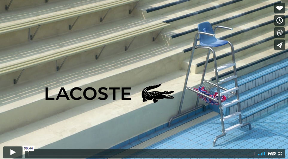 LACOSTE - Joséphine Prod | Société de production de films publicitaires tv et films institutionnels