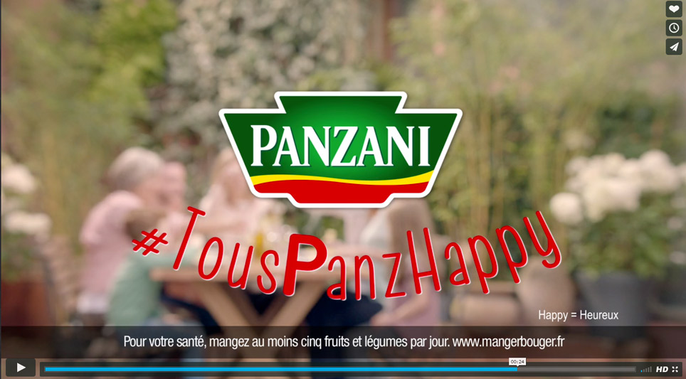PANZANI - Joséphine Prod | Société de production de films publicitaires tv et films institutionnels